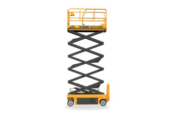 [720 ° panoramic display] XCMG XG1212HD scissor lifts