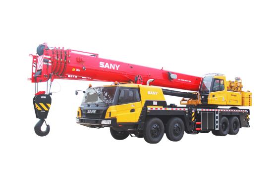 【720° VR Display】 Sany STC800S Truck Crane