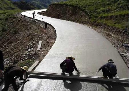 水泥混凝土路面施工