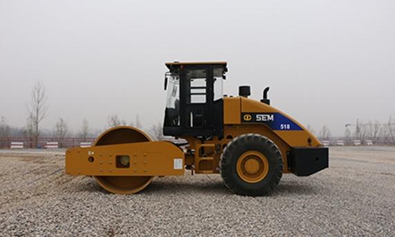 山工SEM518單鋼輪壓路機