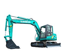 山河智能SWE80E9小型挖掘机