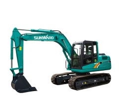 山河智能SWE100E挖掘机