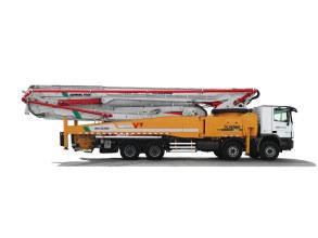 徐工HB62K混凝土泵车高清图 - 外观