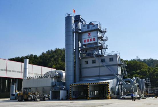 锡通QLB-HX4000环保型沥青搅拌设备