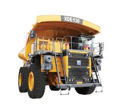 徐工XDE130电传动自卸车高清图 - 外观
