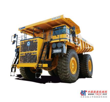 徐工XDE200电传动自卸车