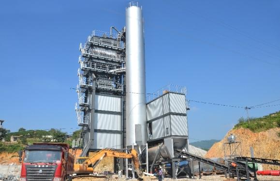 铁拓机械GLB-2000沥青混合料搅拌设备