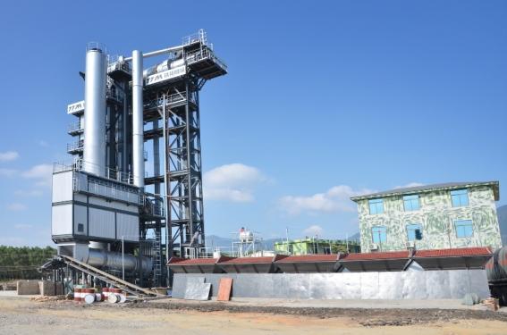 铁拓机械TS1510沥青厂拌热再生成套设备