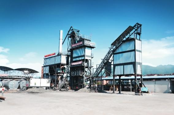 铁拓机械PLB-1000/2000沥青混合料搅拌设备