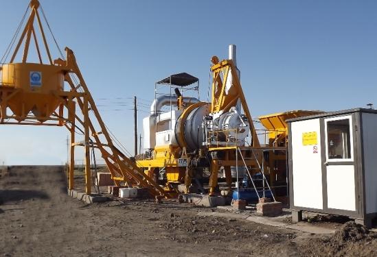 铁拓机械QLB-30t沥青搅拌机
