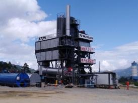 鐵拓機械LB-1000瀝青混合料攪拌設備