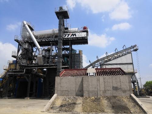 铁拓机械RLBZ-1500沥青再生附楼设备