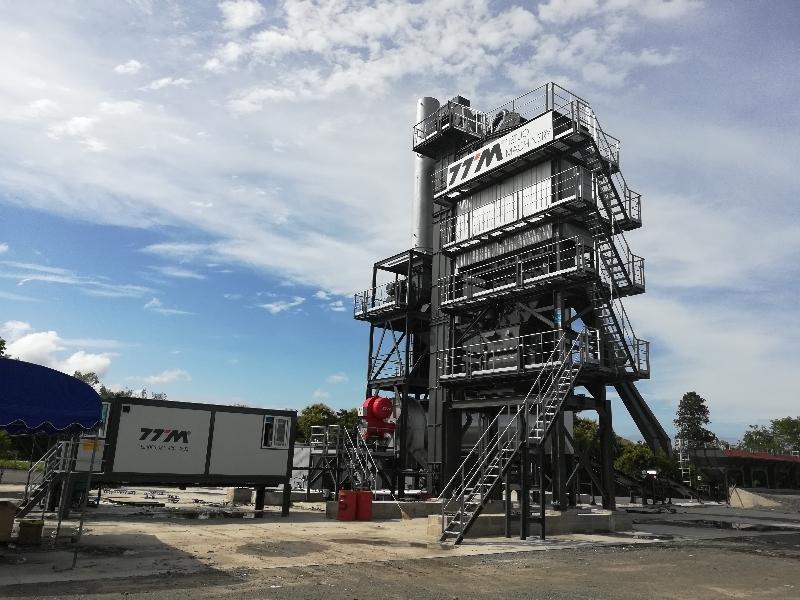 铁拓机械LB-2000型沥青搅拌站