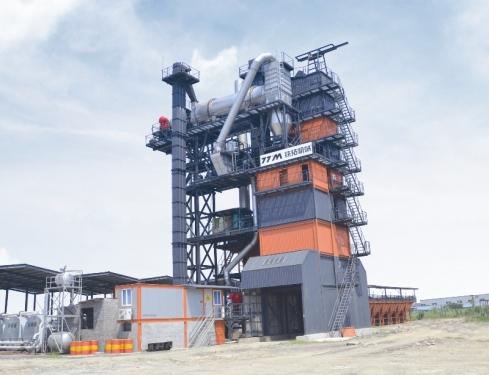 铁拓机械TS3015沥青厂拌热再生成套设备高清图 - 外观