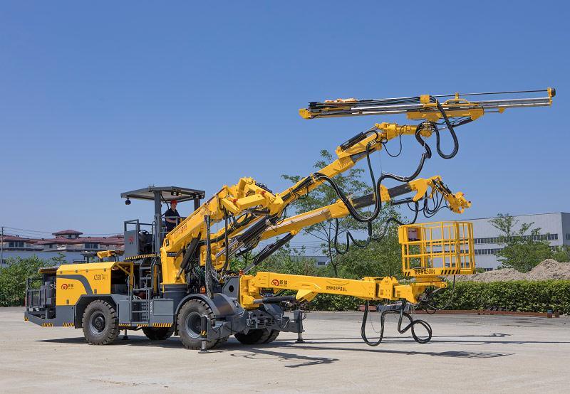 安徽省的用戶對新築XZGMT411拱架錨杆安裝台車評價