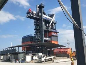 铁拓机械TSE4020沥青搅拌站(配套2000型再生)高清图 - 外观