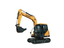 现代重工R75 VS挖掘机