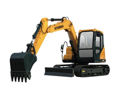 现代重工R75BVS挖掘机