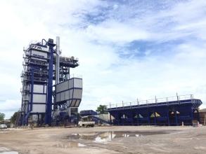 铁拓机械TS2015沥青厂拌热再生成套设备高清图 - 外观