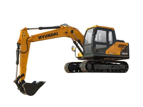 现代R110VS挖掘机