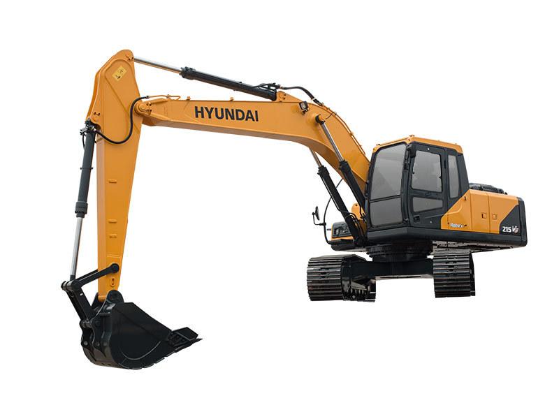 现代重工R215VS中大型挖掘机
