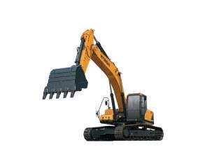 现代R350LVS挖掘机高清图 - 外观