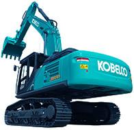 神钢SK380XD-10挖掘机高清图 - 外观