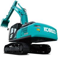神钢SK330-10挖掘机高清图 - 外观