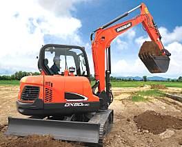 斗山DX60E-9C挖掘机