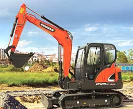 斗山DX65-9C PLUS挖掘机