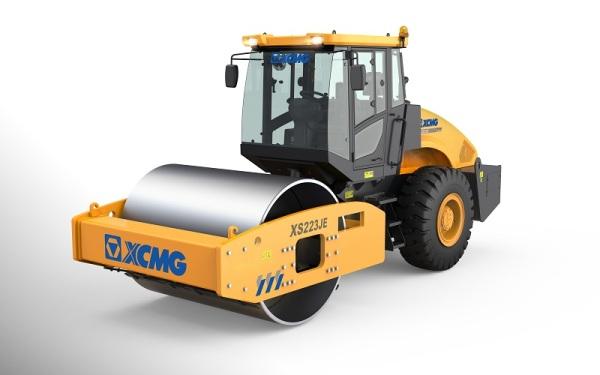 徐工XS223JE机械单钢轮振动压路机