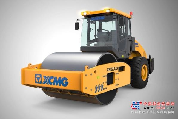 徐工XS223JS电控直接换挡压路机
