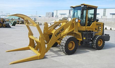 一能重工YN926D轮式抓木机高清图 - 外观