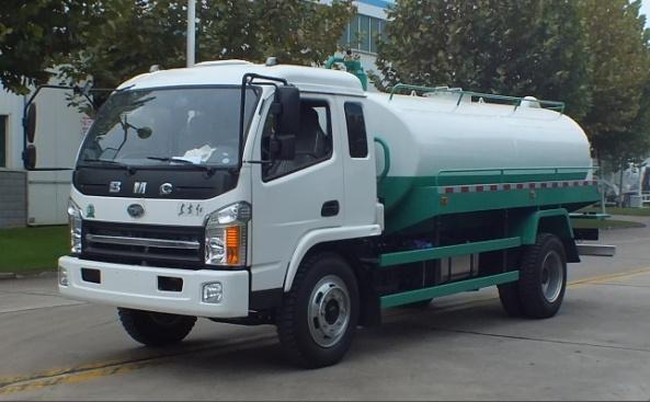 森源重工SMQ5120GZXLTE5型沼气池吸污车