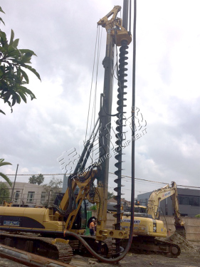 泰信机械KR125M旋挖钻机