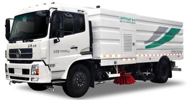 森源重工SMQ5160TXSDFE5洗扫车(16方)