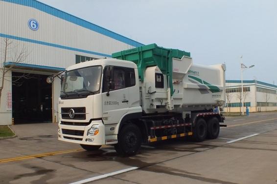 森源重工SMQ5160ZXXDFE5型车厢可卸式垃圾车