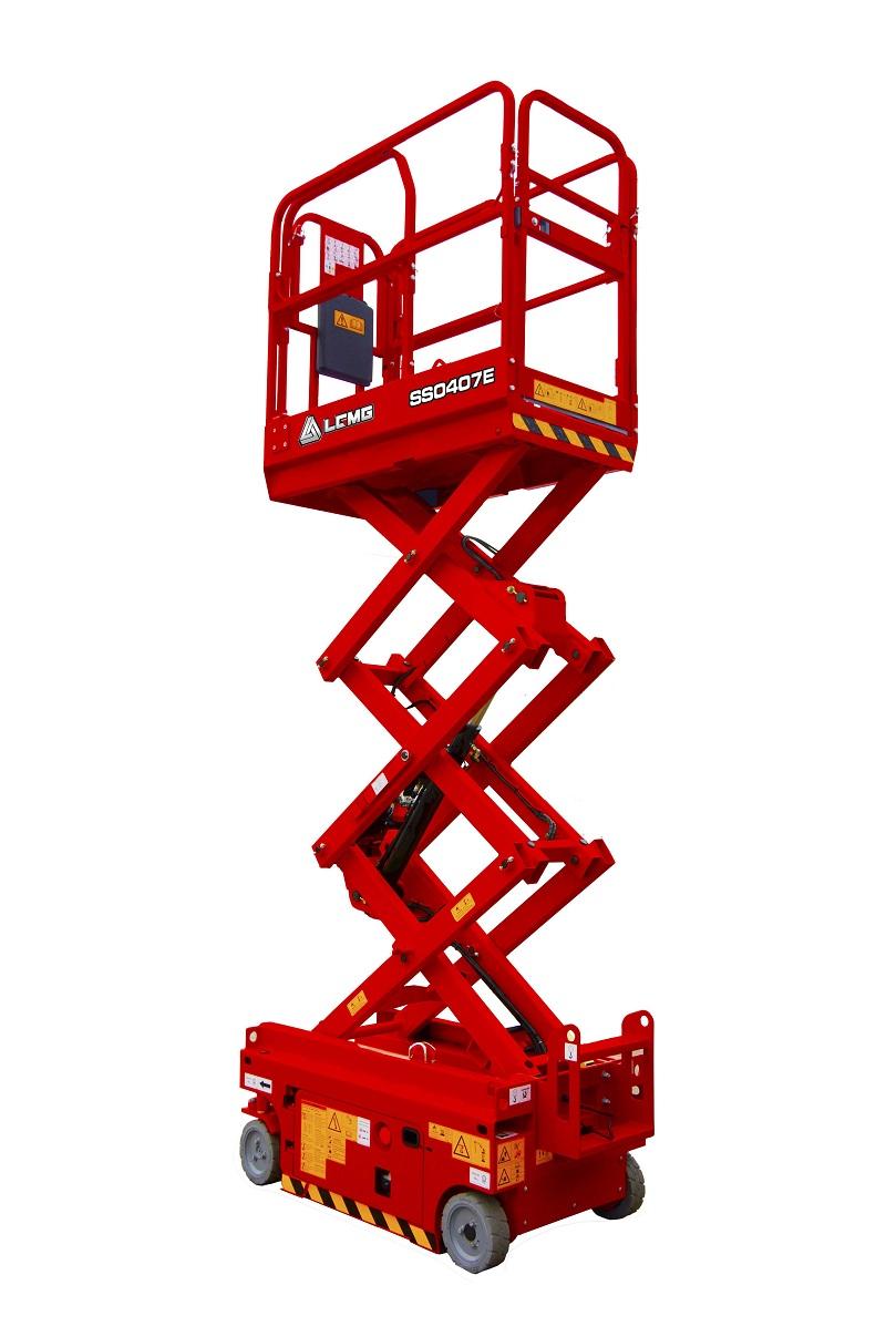 临工重机SS0407E剪叉式高空作业平台高清图 - 外观