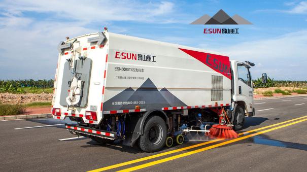 易山重工ESN5080TXS洗扫车租赁清扫车