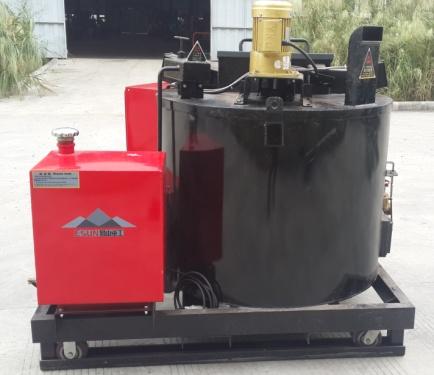 易山重工300L灌缝热熔釜沥青熔料机