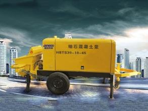 山推建友HBTS15-6-22细石混凝土泵(电机)高清图 - 外观