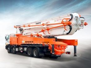 山推建友HJC5410THB-56S9系列混凝土臂架泵式泵车高清图 - 外观