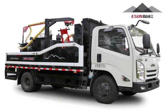 易山重工HZJ5070TYH车载式灌缝机灌缝车灌缝设备(一体式灌缝机机)
