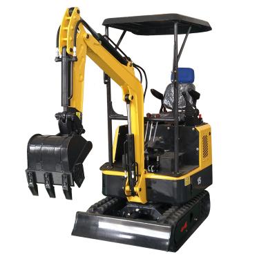 路霸15无尾小型挖掘机