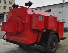 易山重工CLYB-ZS600拖挂式热补车滚筒式旧料热再生修补机养护车炒料机拌合机