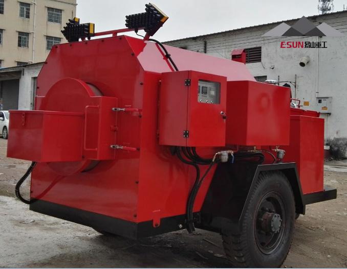 易山重工ESN5160TXB沥青搅拌设备(炒料机、拌合机)高清图 - 外观