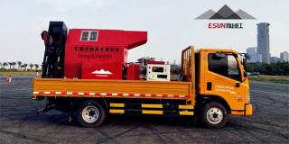 易山重工CLYB-CYB1500车载滚筒热补车旧料热再生修补机养护车炒料机拌合机