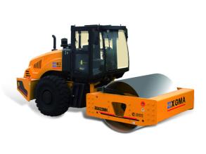 厦工XG622MH机械式单钢轮压路机高清图 - 外观