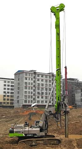 中联重科ZR220C-3旋挖钻机