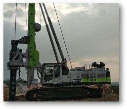 中联重科ZR400C-3旋挖钻机高清图 - 外观